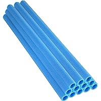 Alta de rebote Trampoln Polo Espuma mangas adapta para 1-pulgada de dimetro Polo, azul