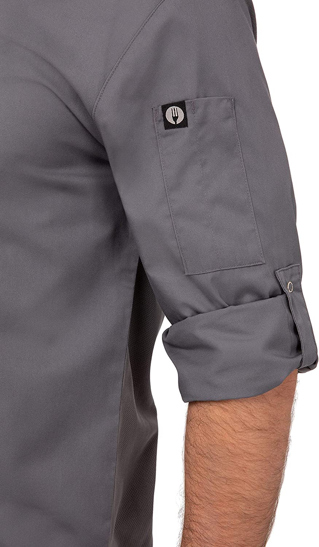 Chef Works Mens Lansing Chef Coat