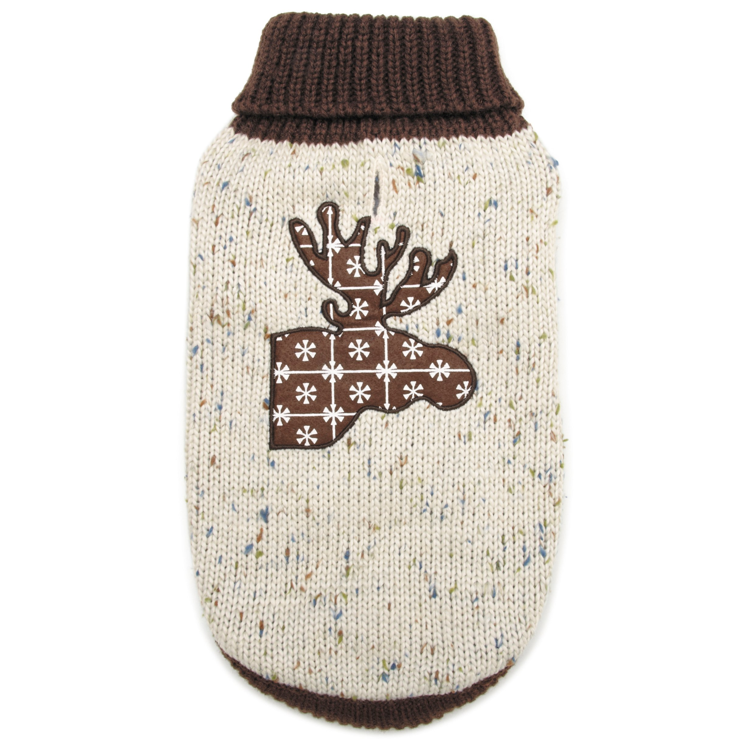 Zack & Zoey Northern Woods Moose Sweater, XX-Small