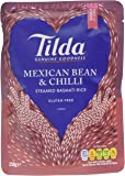 Tilda Spicy Mexican Steamed Basmati Rice, 250g (pack of 6)