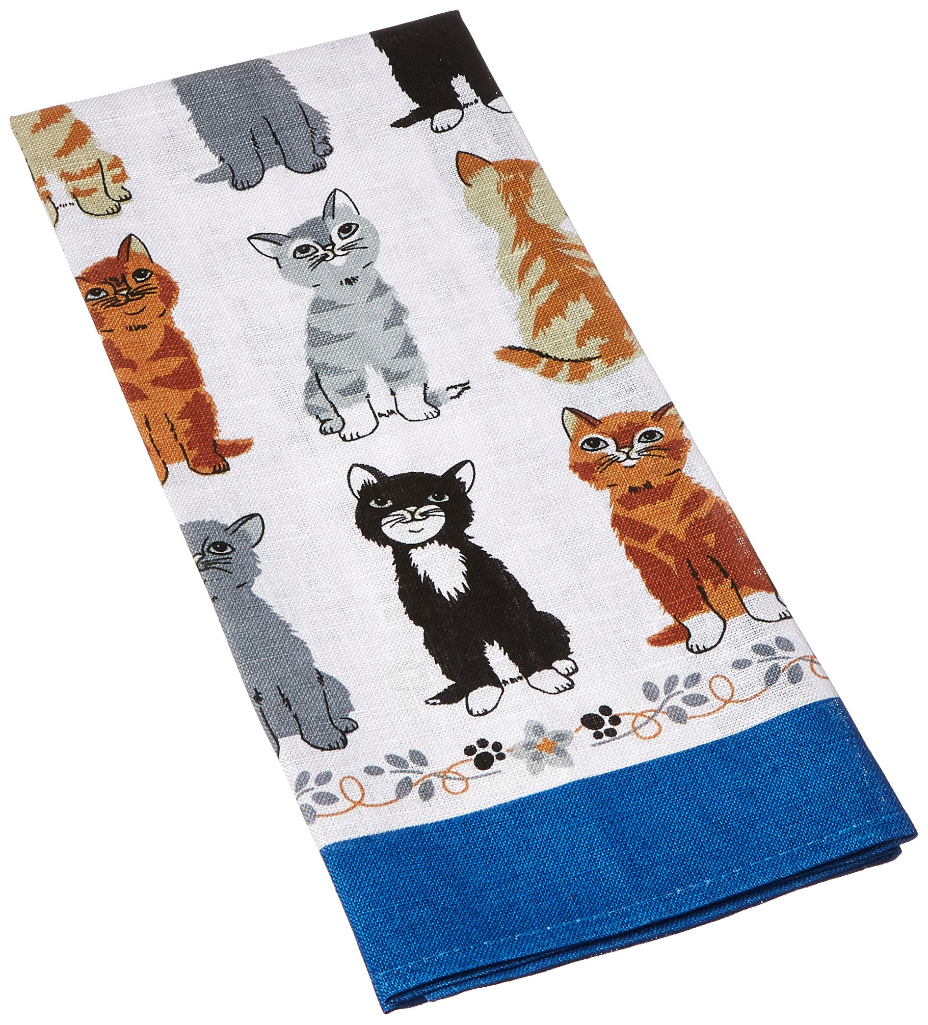 Ulster Weavers Kittens Arrived Linen Tea Towel