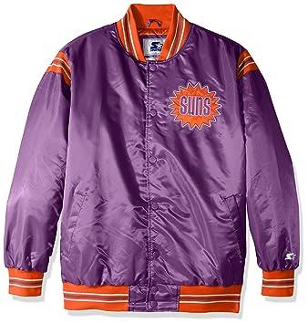 The Enforcer Retro de la NBA hombres chaqueta de satén - LSY40240, Púrpura: Amazon.es: Deportes y aire libre
