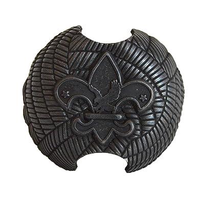 Amazon Boy Scout Neckerchief Woggle Metal Kerchief Clip 1