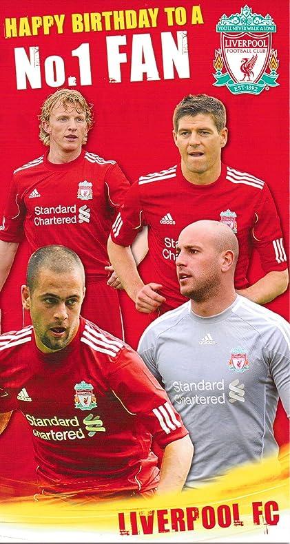 Amazon Danilo Liverpool Birthday Card Happy Birthday No1 Fan
