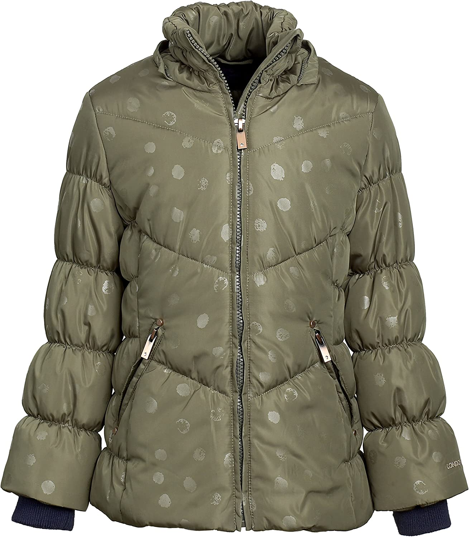 London Fog Girls Down Alternative Hooded Winter Snow Puffer Bubble Jacket  Coat Down & Down Alternative