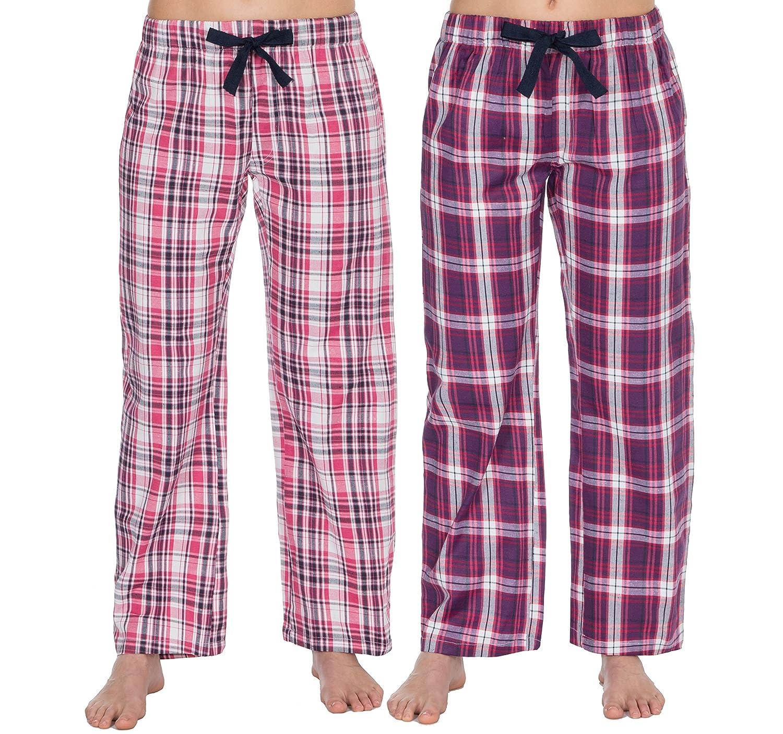 Best Deals Direct UK Ladies Pyjamas Lounge Pants (2 Pack)