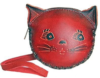 Amazon.com: anipals – Red Cat Purse – Monedero Cambio con ...