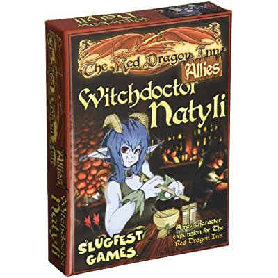 Slugfest Games Red Dragon Inn: Allies - Witchdoctor Natyli (Red Dragon Inn Expansion) Board Game: Toys & Games [5Bkhe1201548]