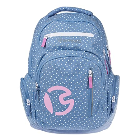 c3b7ac68d3 Beckmann of Norway Children Schulrucksack 30l Sport Junior Denim von  Beckmann of NorwayBackpack multi-coloured patterned L  Amazon.co.uk  Luggage
