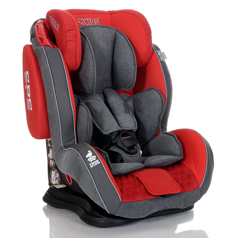 LCP Kids Auto-Kindersitz GT 9-36 kg mit Schlafposition; Farbe: Grau 1107