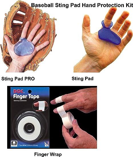 Hot Glove Sting – Guante de béisbol para Mano protección 3 Piece ...