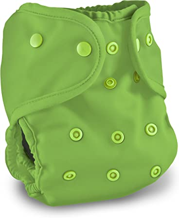 Buttons Cloth Diaper Cover - One Size – Apple - (See Other Color Options)