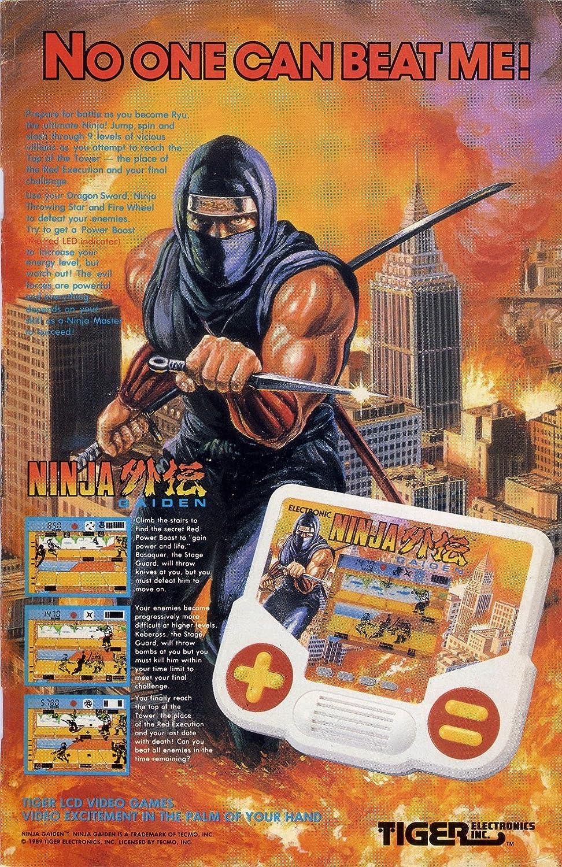 Amazon.com: Ninja Gaiden Handheld Electronic LCD Juego (1988 ...