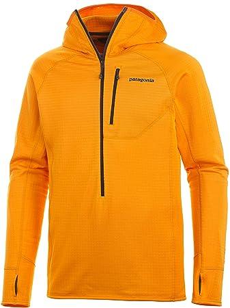 c1adab2d53e Patagonia M R1 Hoody - Sporty Orange - S - Mens versatile elastic ...