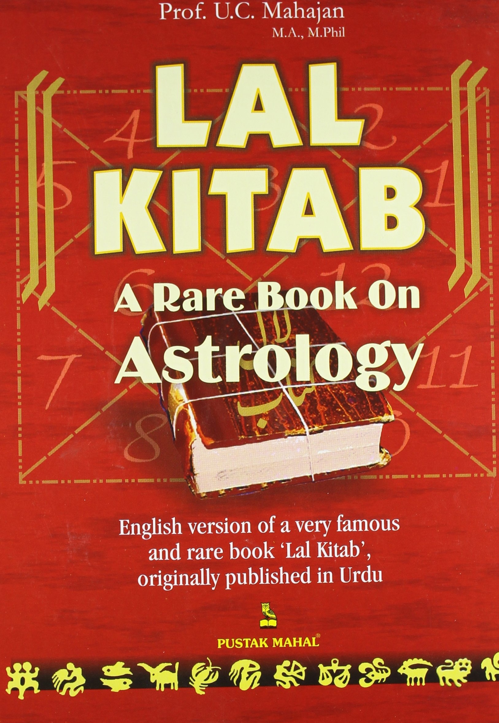 Lal kitab: a rare book on astrology: amazon. Co. Uk: mahajan v. C.