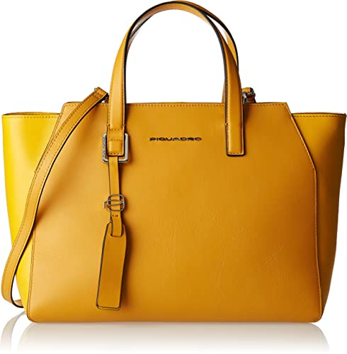 b423e99553 Piquadro Bd4326mus Borsa Tote, Donna, Giallo: Amazon.it: Scarpe e borse