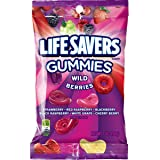 LIFE SAVERS Wild Berry Gummies Candy Bag, 7 ounce (Pack of 12)