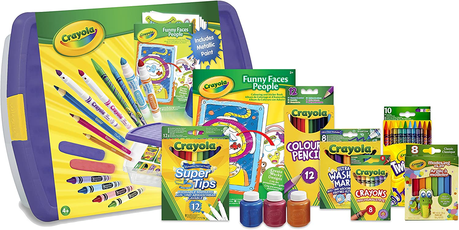 Crayola Mega Activity Tub set