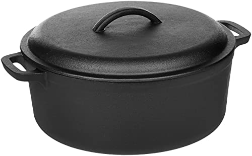 AmazonBasics Pre-Seasoned Cast Iron Dutch Oven Review
