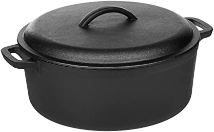 Review AmazonBasics Pre-Seasoned Cast Iron