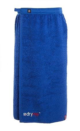 Dryrobe - Dryrap - Toalla de deporte para cambiarse - Hombre - Talla única - Azul real: Amazon.es: Deportes y aire libre