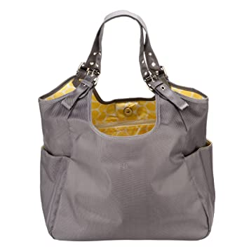 df60a3f5f3 Amazon.com   JP Lizzy Satchel - Citron   Diaper Tote Bags   Baby