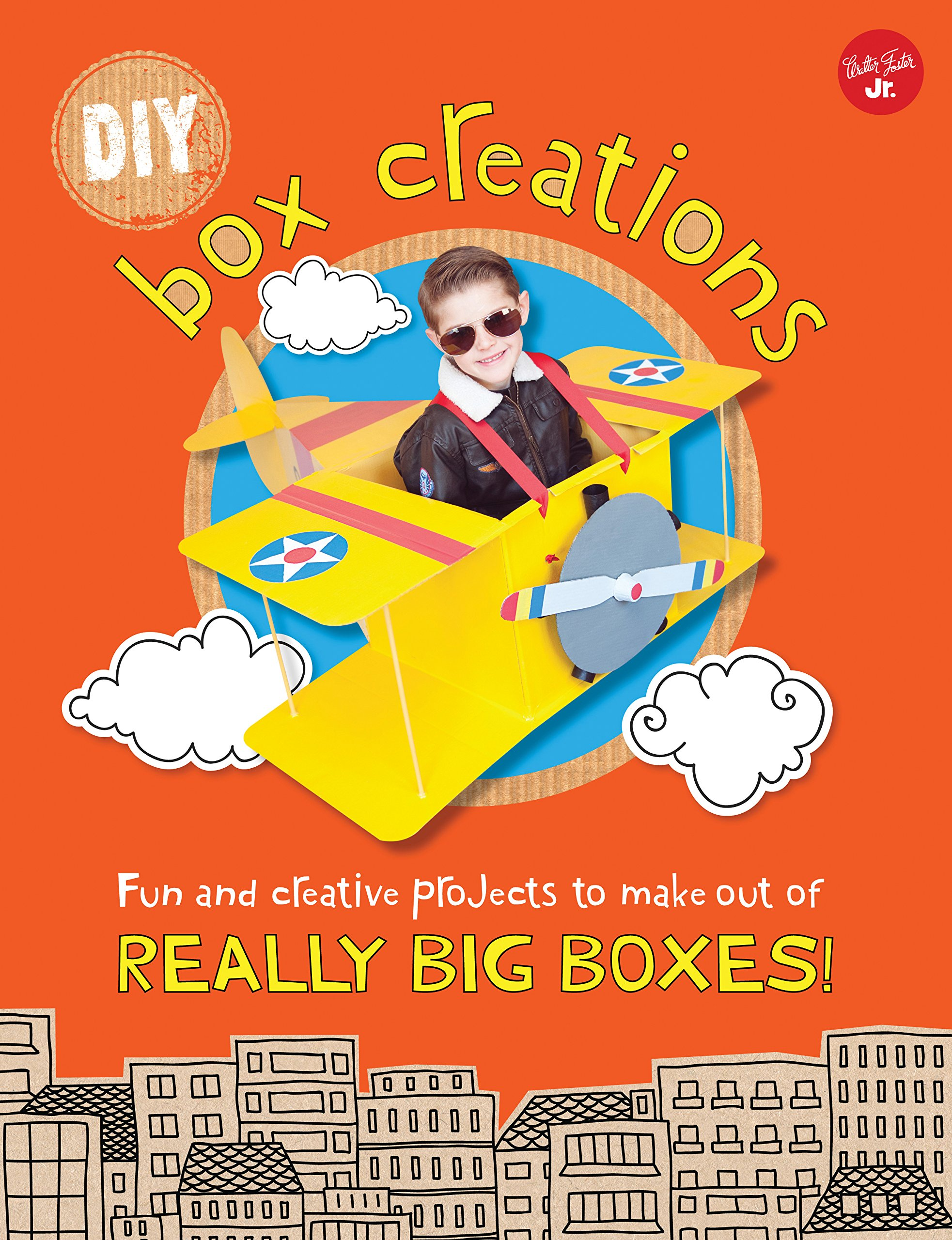 DIY Box Creations: Fun and creative projects to make out of REALLY BIG BOXES!