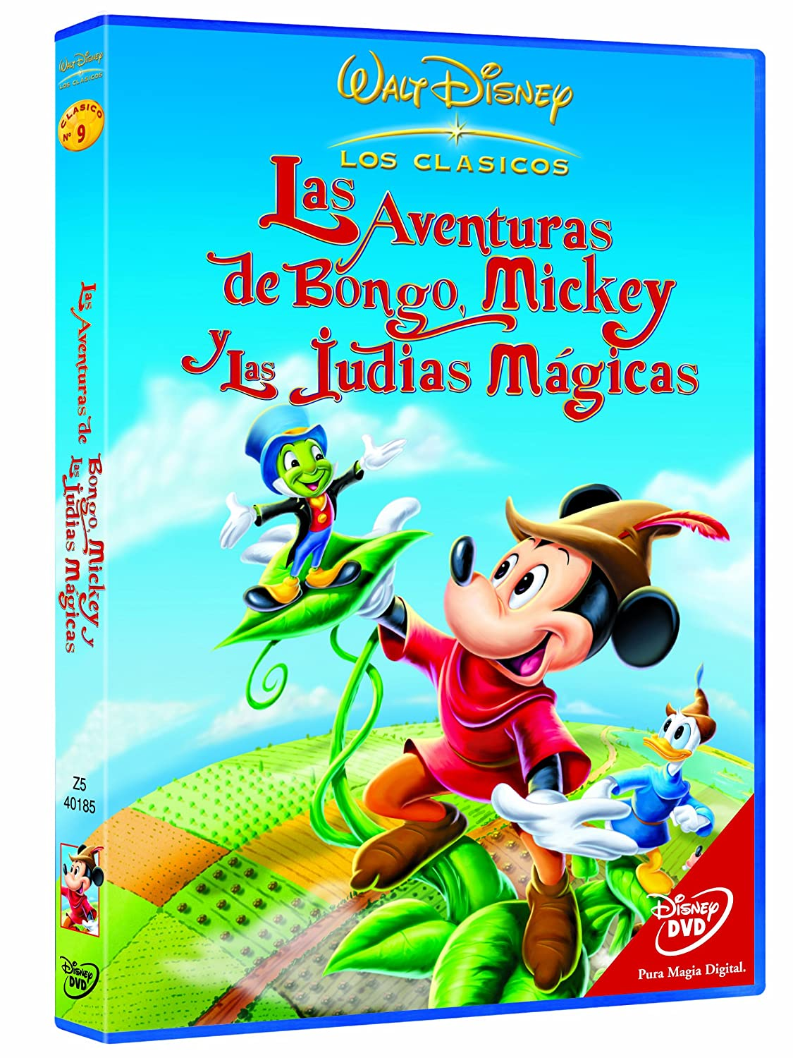 Las Aventuras De Bongo Mickey Y Las Judías Mágicas Dvd Amazon Es Jack Kinney Hamilton Luske William Morgan Cine Y Series Tv