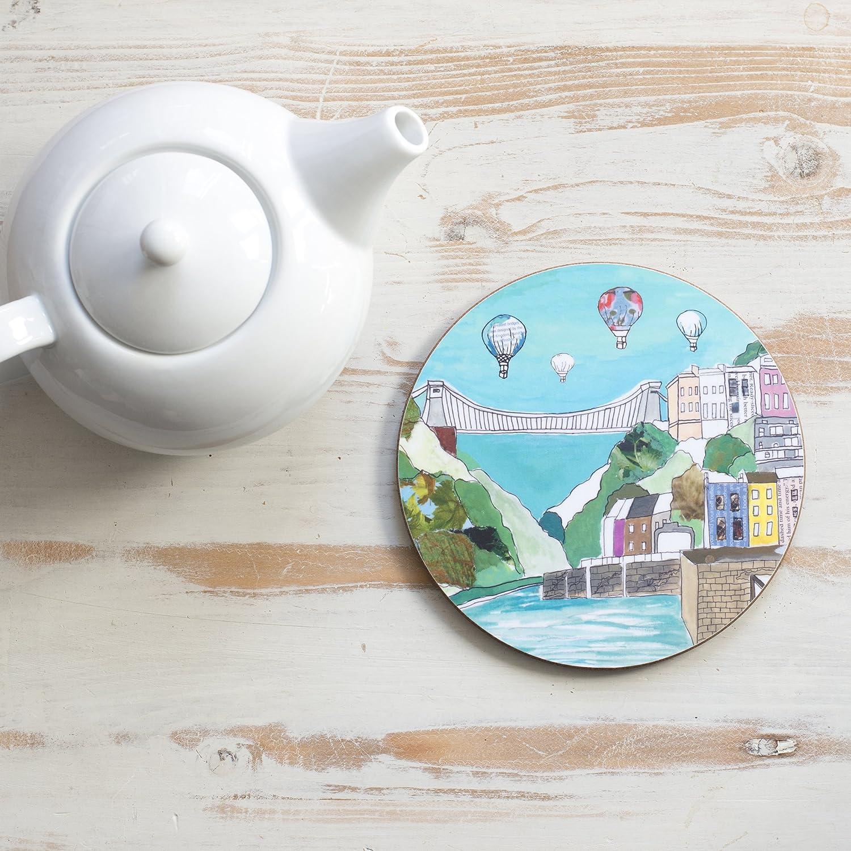 Clifton Balloons Circular Teapot Stand Emmeline Simpson
