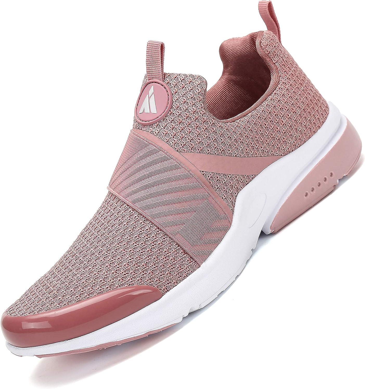 Zapatillas Deportivas Mujer Antideslizante Running Zapatos Gimnasio Transpirables Liviano Sneakers Rosa 41 EU: Amazon.es: Zapatos y complementos