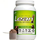 Nutrition 53 Lean1 Chocolate, Lactose Free Protein Powder, 23 Serving Tub, 3 lbs.