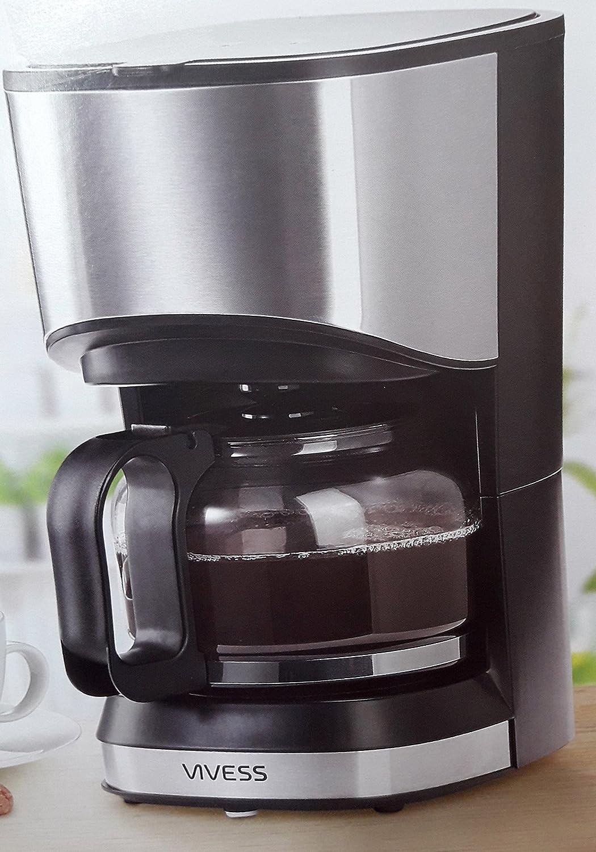 Mini Kaffee Maschine Automat Reise Single 0,7L platzsparend Permanentfilter