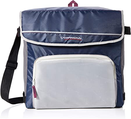 Campingaz Fold`N Cool Nevera Flexible, 30 l, Unisex, Azul Marino/Gris