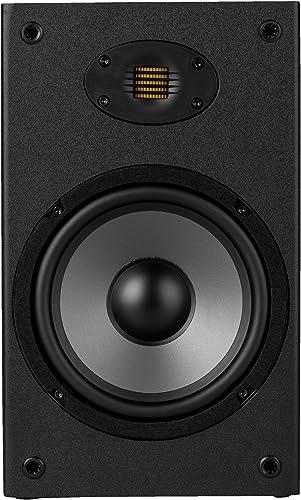 Dayton Audio B652-AIR 6-1 2 2-Way Bookshelf Speaker with AMT Tweeter Pair