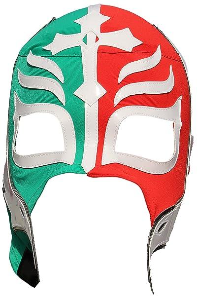 Rey Mysterio alta calidad Lycra lucha libre adulto luchador máscara