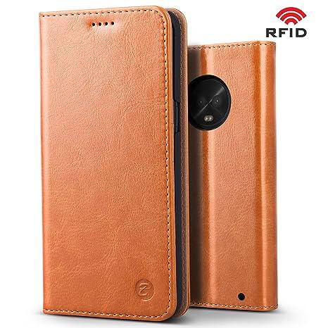 Amazon.com: Moto G6 funda, BELK protección RFID [Elegante ...