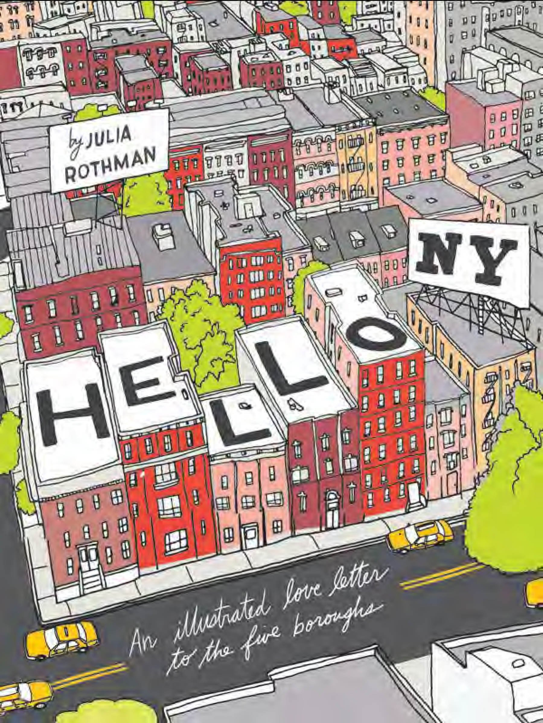Read Online Hello NY: An Illustrated Love Letter to the Five Boroughs pdf epub