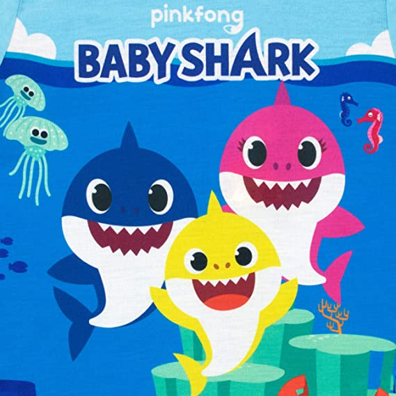Pinkfong Baby Shark Doo Doo Pigiama per Bambina