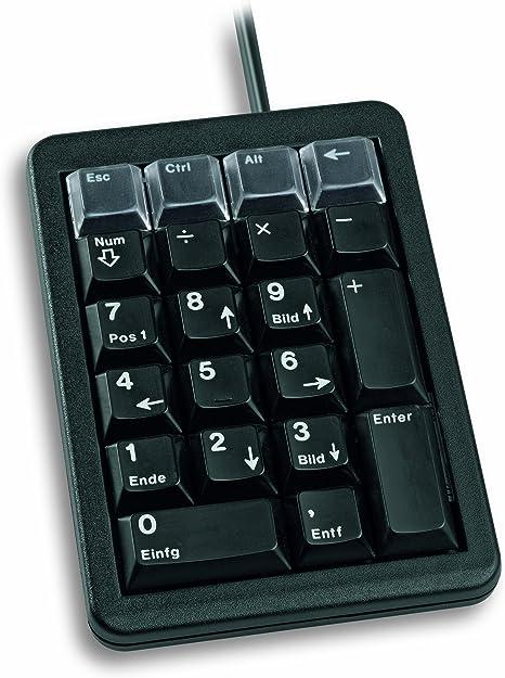 Cherry G84-4700 Tastatur USB 2.0 Schwarz: Amazon.es: Informática