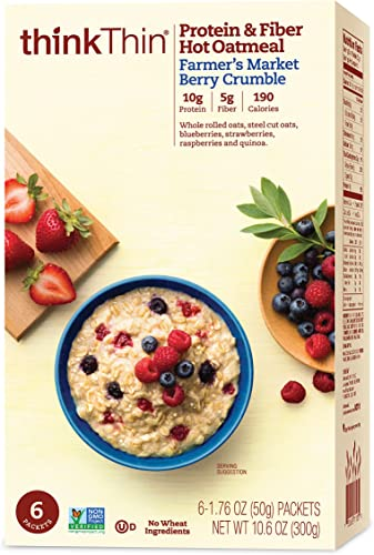 think! (thinThin) Protein & Fiber Hot Oatmeal