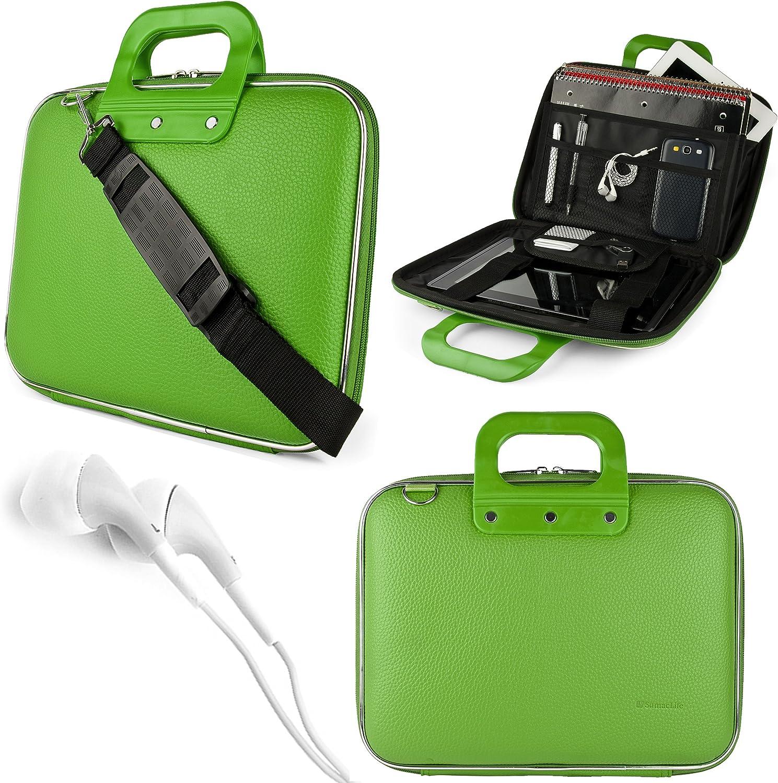 Cady Messenger Bag for iPad Air iPad Pro 10.5 iPad Mini iPad 9.7 iPad Pro 11 Tablets up to 10.5 inches with VG Headphones