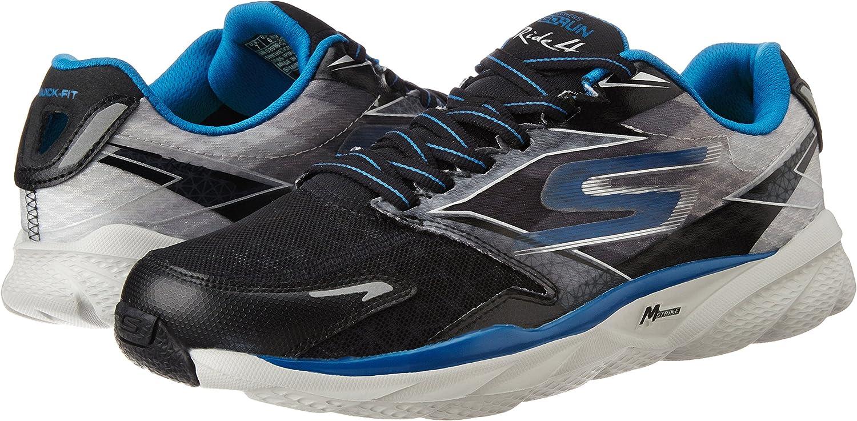 Skechers Go Run Ride 4 - Zapatillas de deporte para hombre, Schwarz (black/blue), 41: Amazon.es: Zapatos y complementos