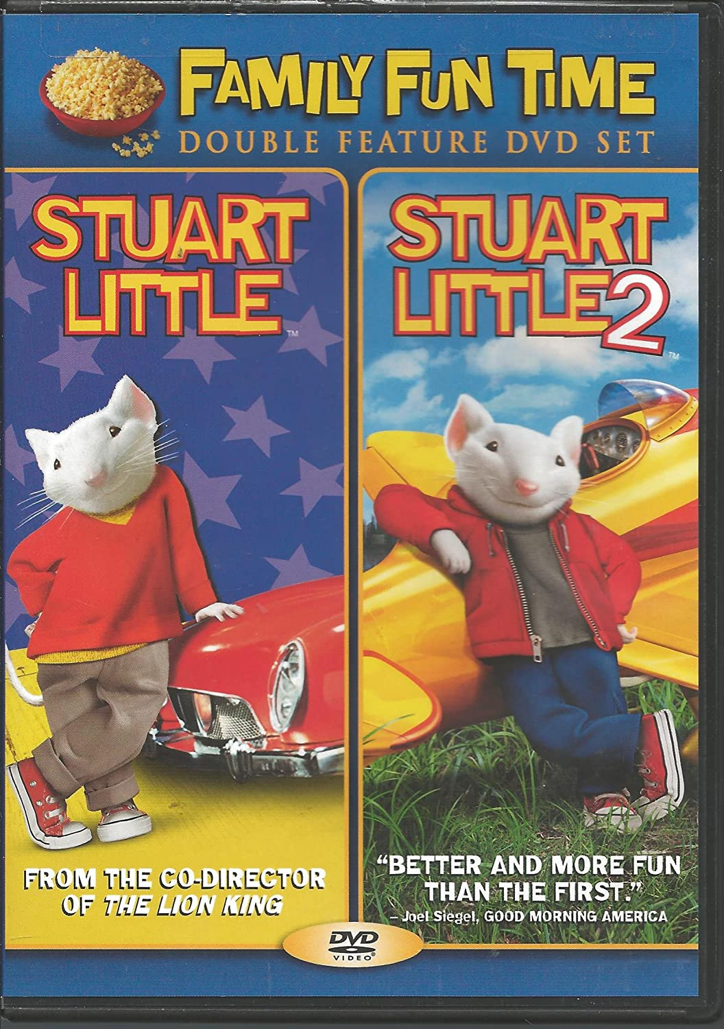 Amazon Com Stuart Little Stuart Little 2 Michael J Fox Geena Davis Hugh Laurie Jonathan Lipnicki Nathan Lane Rob Minkoff Movies Tv