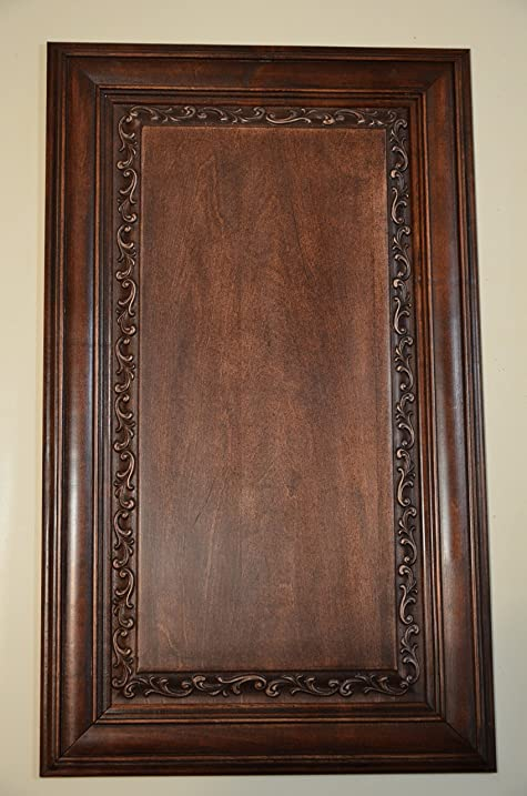 Solid Wood Cabinet Door Carved Raised Panel Amazon