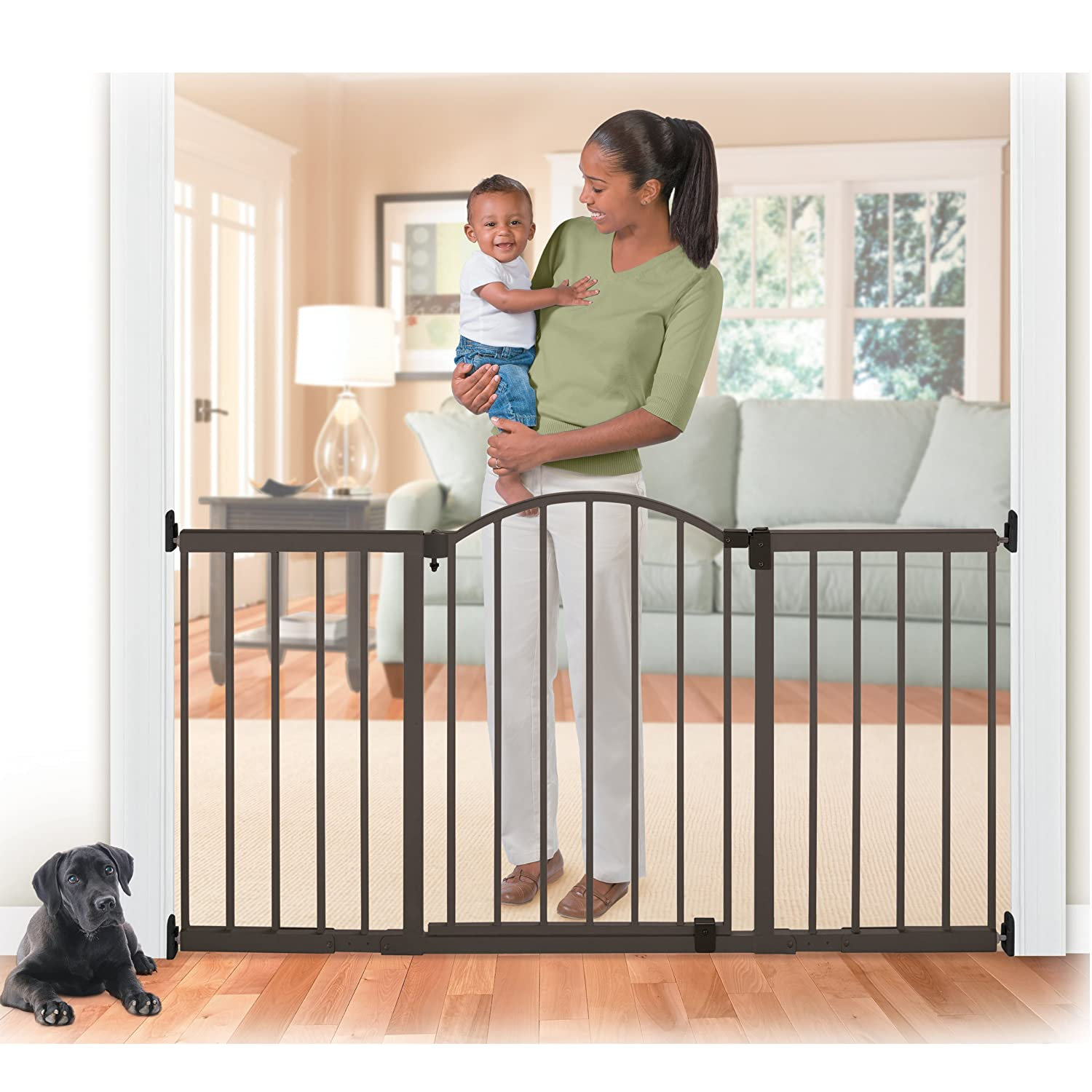 Amazon.com : Summer Infant Metal Expansion Gate, 6 Foot Wide Extra ...