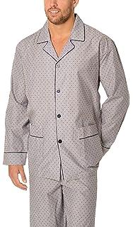 El Búho Nocturno Especial Tallas Grandes, Pijama de Caballero   Pijama de Hombre clásico de