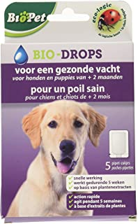 Lazer BSI 15122 BioPet Bio-Drops Para una piel sana, para perros y cachorros