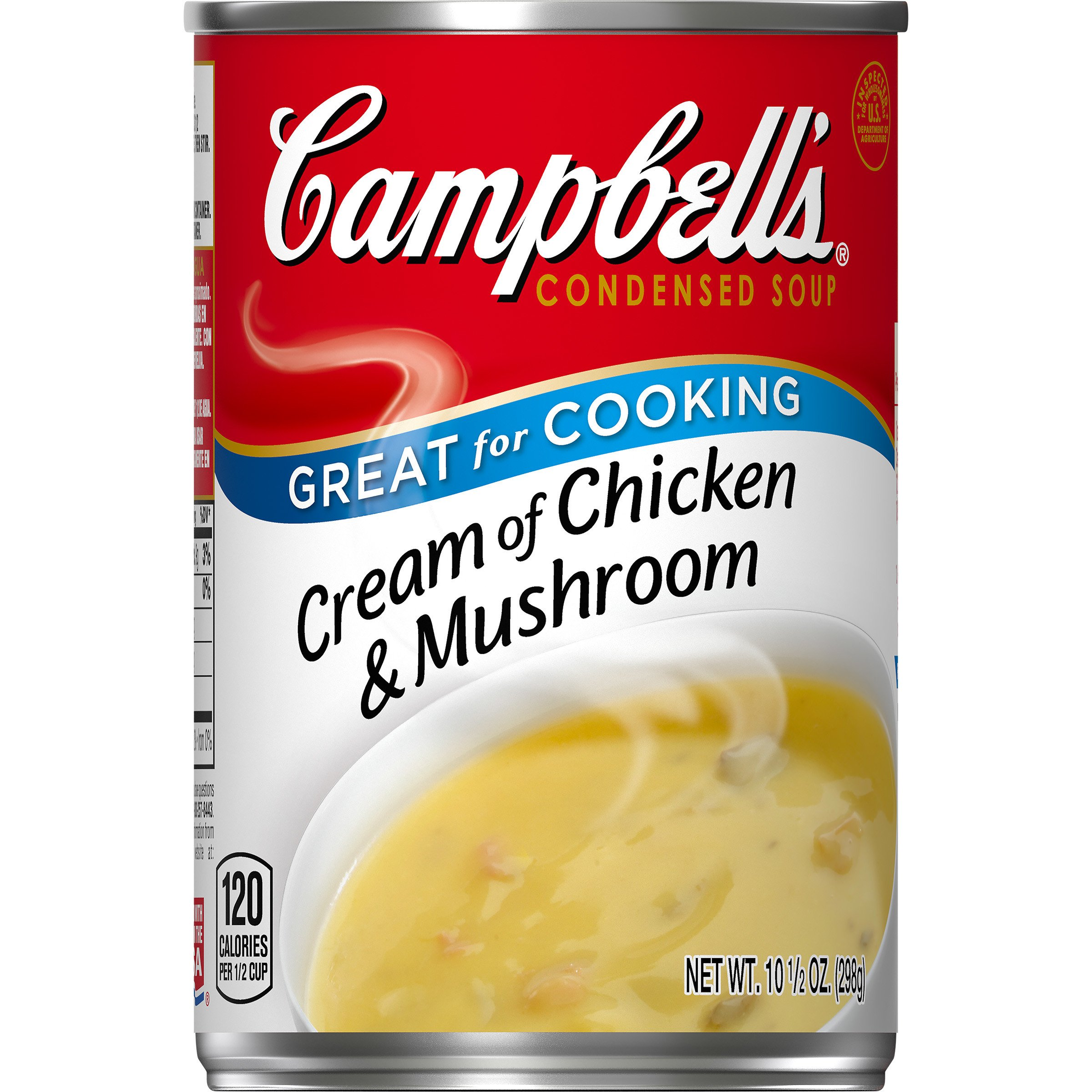 Campbell's Condensed Soup, Cream of Chicken & Mushroom, 10.5 Ounce