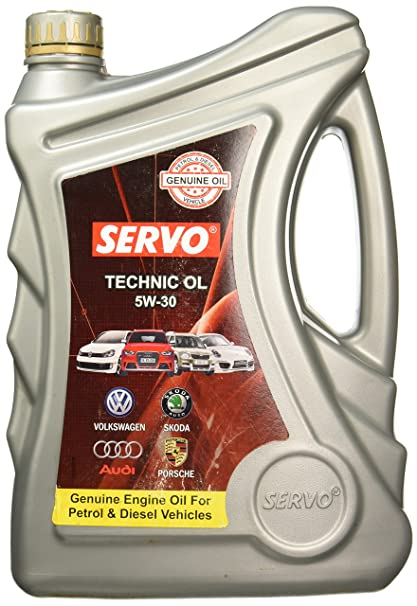 e7d7cd4db1a Servo Technic 5W-30 Engine Oil for Diesel and Petrol Cars (4.6 L ...