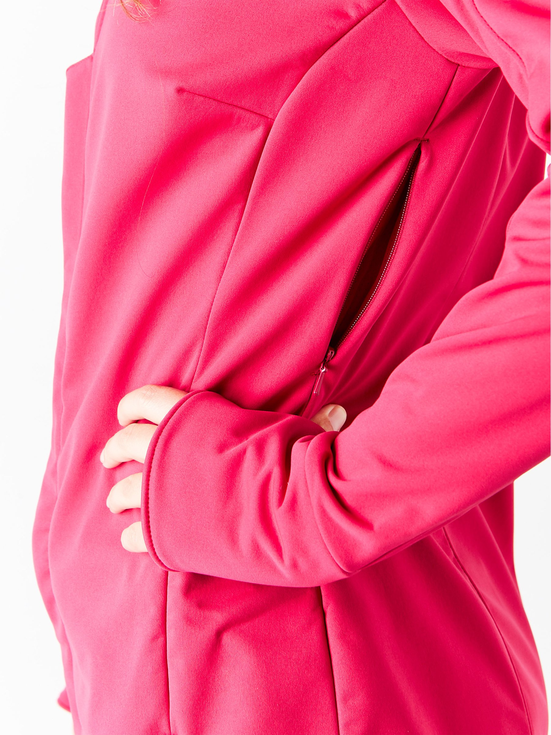 ASICS Womens Softshell Jacket, Performance Black, Small by ASICS (Image #6)